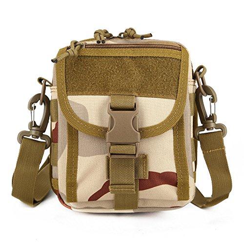 e-jiaen borsa a tracolla marsupio croce piccola borsa per sport all' aria aperta come escursioni pesca campeggio, C3 C3