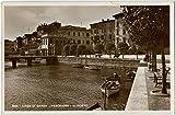 1941 Peschiera del Garda - Lago di Garda, passeggiata, barche - FP B/N VG Cartolina Postale