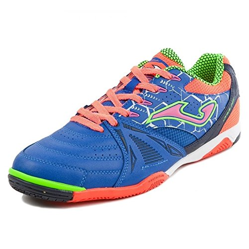 Joma Dris.704.In, Chaussures Futsal Homme Multicolore (Azul / Verde / Naranja)
