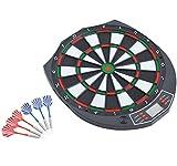 Homcom - Diana electrónica digital 18 juegos y 159 variantes + 6 dardos de...