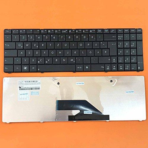 kompatibel für Asus A75, A75DE Tastatur - Farbe: schwarz - Deutsches Tastaturlayout - Version 2 -