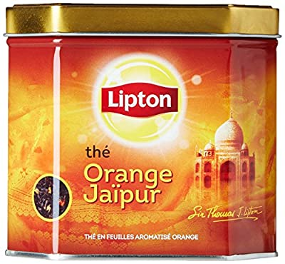 Lipton Thé Noir Orange Jaïpur 200g Vrac - Lot de 2