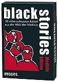 Moses black stories Medizin Edition, 50 rabenschwarze Rätsel, Das Krimi Kartenspiel