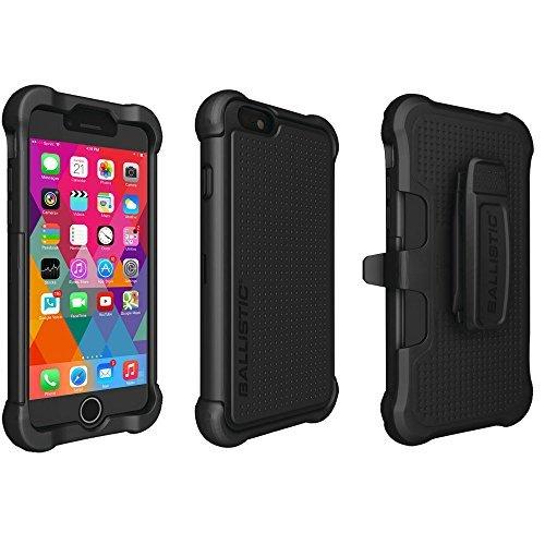 Ballistic tx1416-a06C Tough Jacket Maxx Serie Case mit Gürtelclip für Apple iPhone 611,9cm-Retail Verpackung-Schwarz Maxx-serie