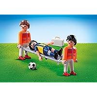 Playmobil 9826 sanitario con jugador de fútbol (pantalla del ...