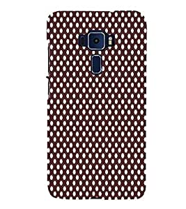 Fuson Designer Back Case Cover for Asus Zenfone 3 ZE520KL (5.2 Inches) ( Ethnic Pattern Patterns Floral Decorative Abstact Love Lovely Beauty )