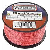 Connex COX781540 Cordeau de maçon 100 m Max 36 kg 1 mm Rose