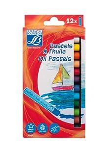 Lefranc & Bourgeois - Pack de 12 Pasteles al óleo de 10 mm
