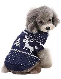 SAMGU Vêtements de Noël Cute Puppy Chien Chat Chaud Manteau Pull Tricots
