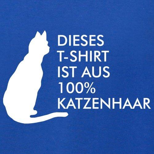 DIESES T SHIRT IST AUS 100% KATZENHAAR - Herren T-Shirt - 13 Farben Royalblau