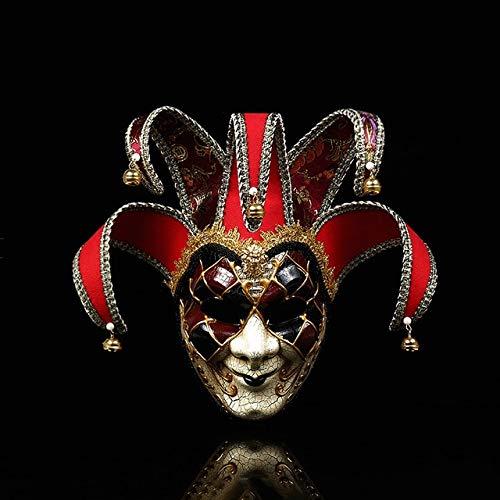 Deathstroke Kind Kostüm Für - AMSIXP Maske Frauen Mädchen Party Masken Party Liefert Maskerade Maske Weihnachten Halloween Kostüme Karneval Masken rot