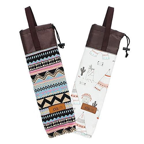 apier Cup Storage Bag Portable Hanging Bag Camping Cup Veranstalter Wasserdicht für Ihre Heimarbeit Parties Outdoors ()