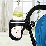 NFFNFF Getränkehalter Fahrrad Kinderwagen Getränkehalter Kinderfahrrad Fahrradwagen Flaschenhalter 360 Drehbar Für Kinderwagen Buggy Kinderwagen Zubehör