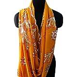 indio largo estola bordada material de dupatta georgette de la cosecha tejido utilizado sarong bufandas naranjas hijab decoración velo de novia