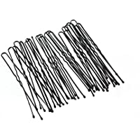 Nero ondulate fermagli per capelli chignon Pin