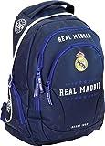Exclusiv und Ergonomisch Real Madrid Rucksack Schulrucksack Tasche 45x31x16cm EDEL