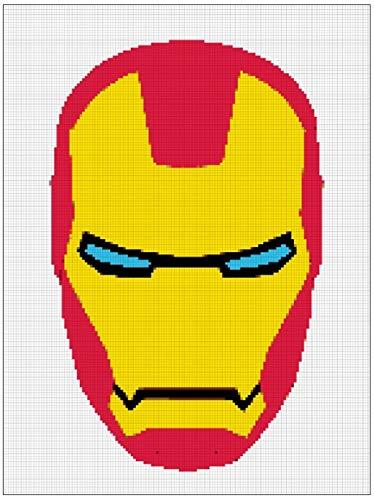 Marvel Avengers Iron Man Cross Stitch (English Edition)