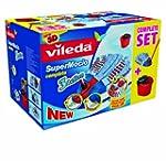 Vileda Supermocio 3 Action Mop and Bu...