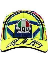 Valentino Rossi VR46 Moto GP Replica Helmet Niños Gorra Oficial 2018