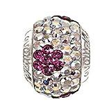 Lovelinks Bead 11831507-24 'Pink Aster'Kristall