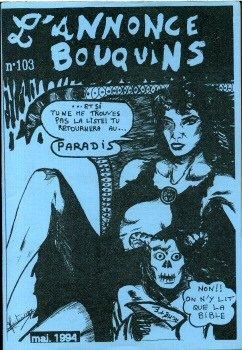 L'Annonce-Bouquins n° 103/106-109 - lot de 5 numéros (1994) (Science Magazine 1994)