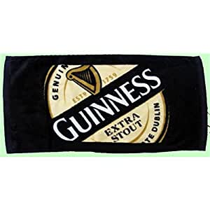 Serviette de bar GUINNESS STOUT en coton 50x24cm
