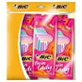 BIC Twin Lady Razors - 5 Packs of 5