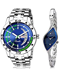 Crispy Day and Date Functioning Unique Analog Couple Watch RY-107-316 Analog Watch - for Couple