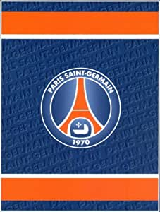Plaid Polaire PSG Paris Saint-Germain 130x170 cm - couverture Sport Football Polar Fleece throw