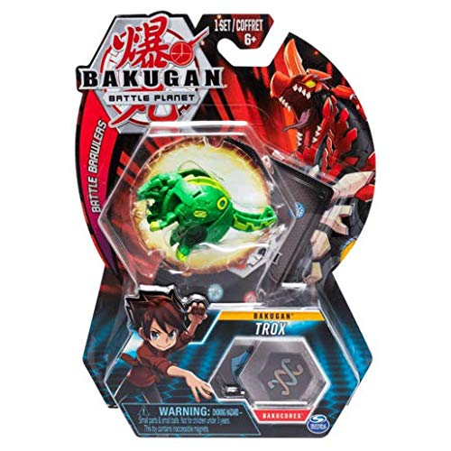 BAKUGAN Spin Master Battle Planet - Trox - 5cm Battle Brawlers und Sammelkarte