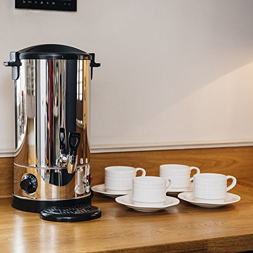 Edelstahl E-Tee Urne Hweißwasserbereiter -