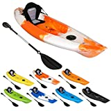 Bluewave Dart Sit On Top Touring Kayak - High Speed - Deluxe Seat & Paddle Package