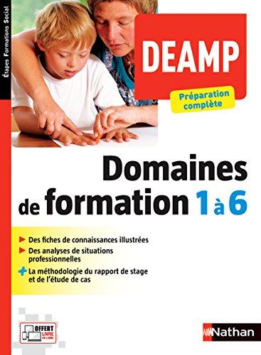 DEAMP Domaines de formation 1 à 6
