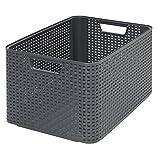 CURVER 03616-308-00 Aufbewahrungsbox Style L, 30 L, anthrazit