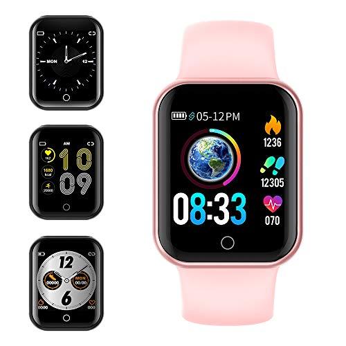 KUNGIX Smartwatch Orologio Fitness Trakcer Pressione Sanguigna Monitor Cardiofrequenzimetro da Polso Bluetooth Smart Watch Schermo...