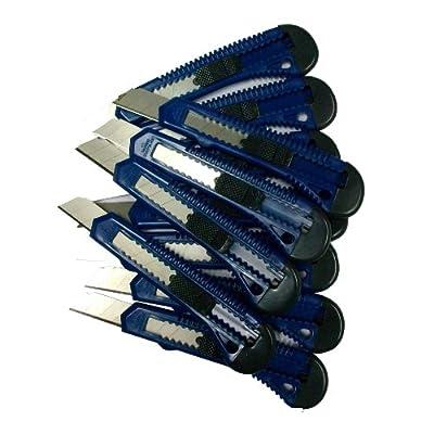 1 Stück Teppichmesser Cuttermesser Paketmesser 18 mm Folienmesser von Teppichmesser - TapetenShop