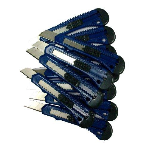 1 Stück Teppichmesser Cuttermesser Paketmesser 18 mm Folienmesser