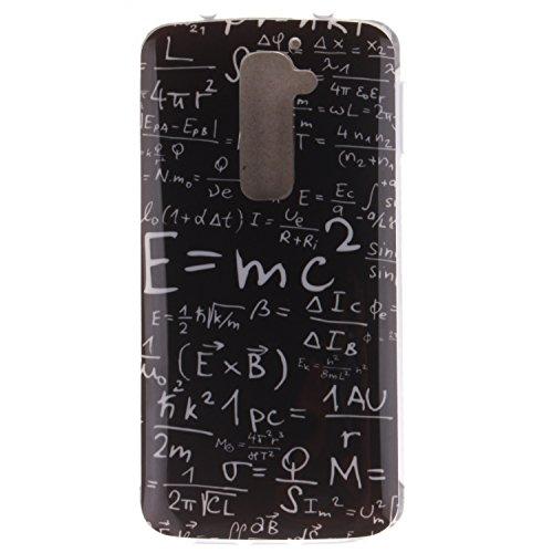 Nancen LG G2 / D802 (5,2 Zoll) Ultra Slim Weich TPU Material Design Silikon Handytasche Schutzhülle, Painted Mode Anti-Kratz Handyhülle Case Hülle Backcover Tasche