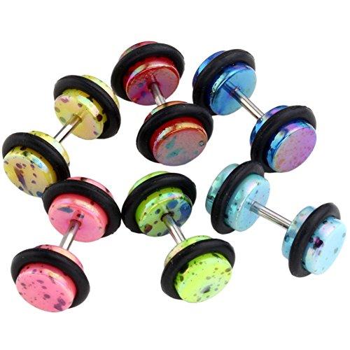 js-direct-12pcs-polka-dot-faux-plug-acrylique-ecarteur-expandeur-oreille-elargisseur-fake-tunnel-6mm