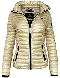 Steppjacke gold damen