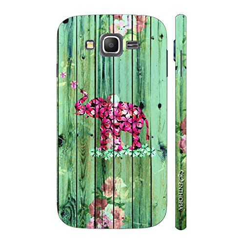 Enthopia Designer Hardshell Case Elephant Art 7 Back Cover for Samsung Galaxy Grand Prime  available at amazon for Rs.95