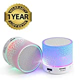 #1: MacBerry Wireless LED Bluetooth Speakers S10 Handfree With Calling Functions & FM Radio For All Android & iPhone Smartphones (Assorted Colour)
