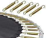 HS HOP-SPORT Trampolinzubehör Ersatzteile für Trampoline: 244, 305, 366, 430, 490 cm Netz Randabdeckung Wetterschutzplane Sprungtuch Feder hochwertige Qualität (Federn 3mm x 135 mm 10 Stck.)