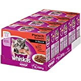 Whiskas PB 12er-MP Junior Fleischauswahl in Sauce 12x100g