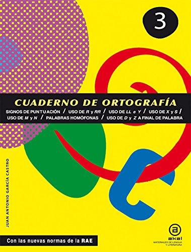 Cuadernos De Ortografía. Signos De Puntuación. 1º ESO - Número 3 (Materiales Lengua Y Lit.) por Vv.Aa.