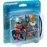 Playmobil Knights Duo Pack 2pieza(s) figura de construcción - figuras de construcción (Multicolor, Playmobil, 4 año(s), 10 año(s), Niño, 2 pieza(s))
