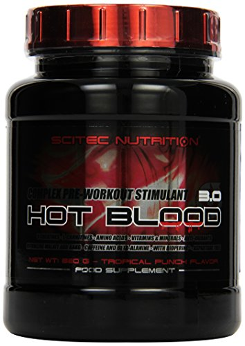 Scitec Nutrition Pre-workout  Hot Blood, Tropical Punch, 820g