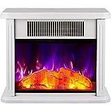 Fireplace Heater Cheminee Electrique Effet Flamme LED 3D Et Protection Contre La...
