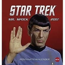 Star Trek Postkartenkalender 2017