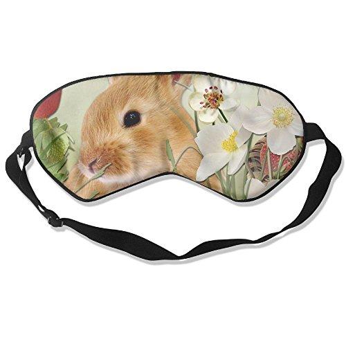 angenehmen Schlaf Augen Masken Bunny Gedruckt Schlafmaske für Reisen, Night Noon Nap, Vermittlung oder ()